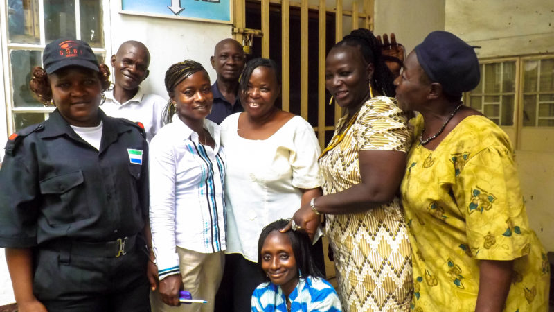Saving Sierra Leone and her girls