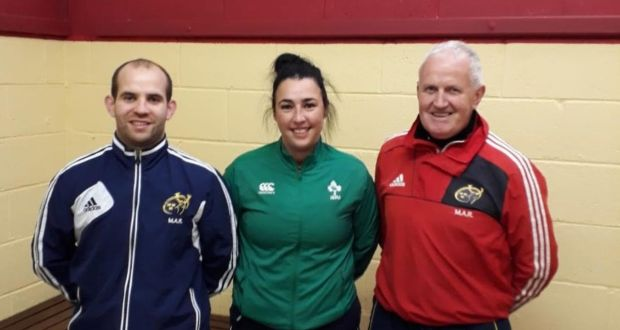 Ulster Rugby referee tacking sexism in sport