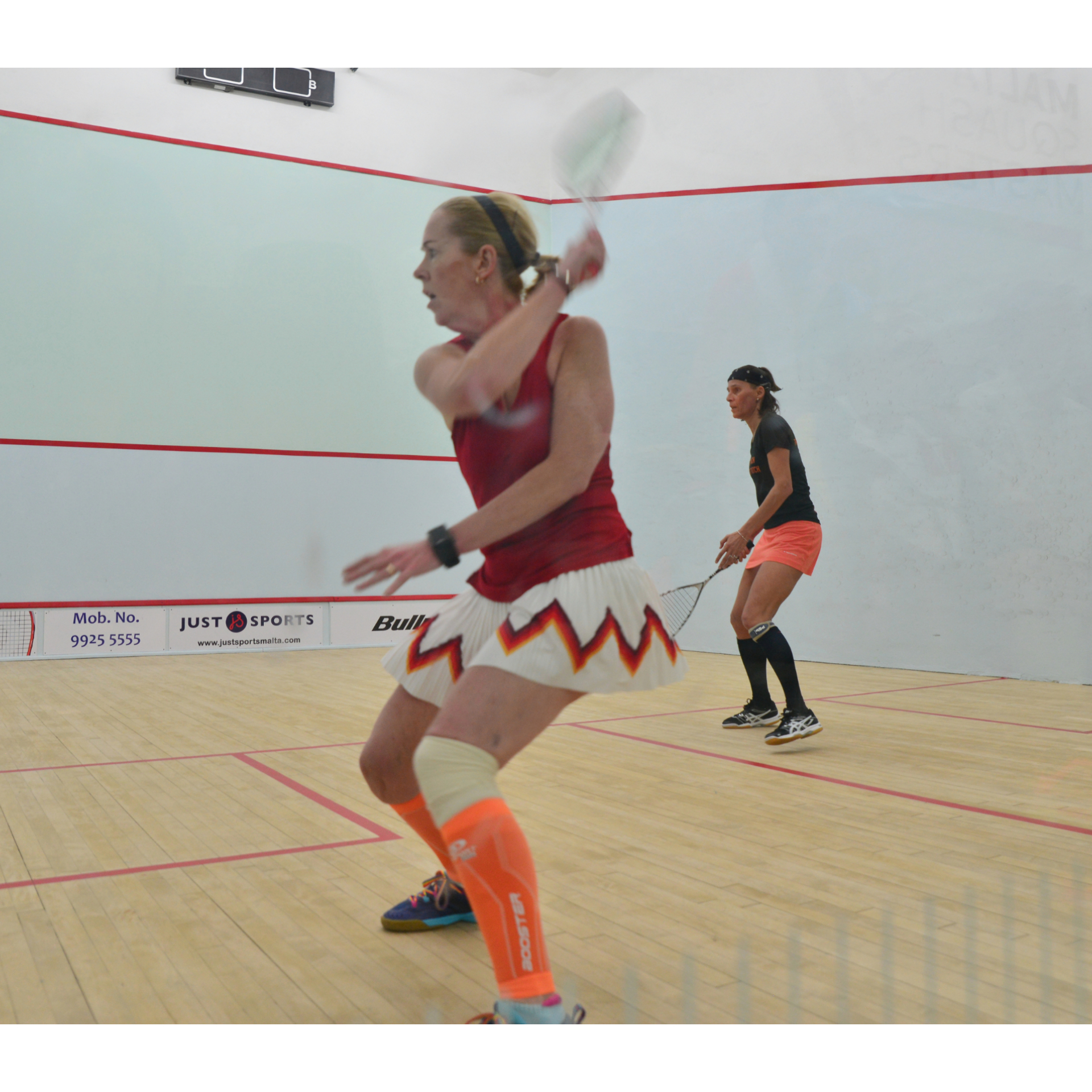 Masters Squash gives a new love of sport