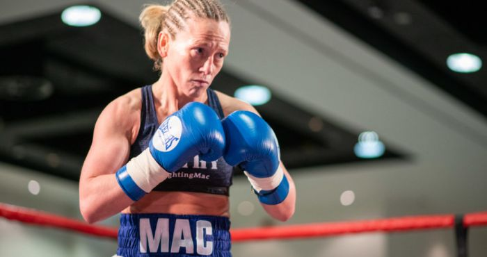 Northern Ireland's only female pro-boxer on her new career