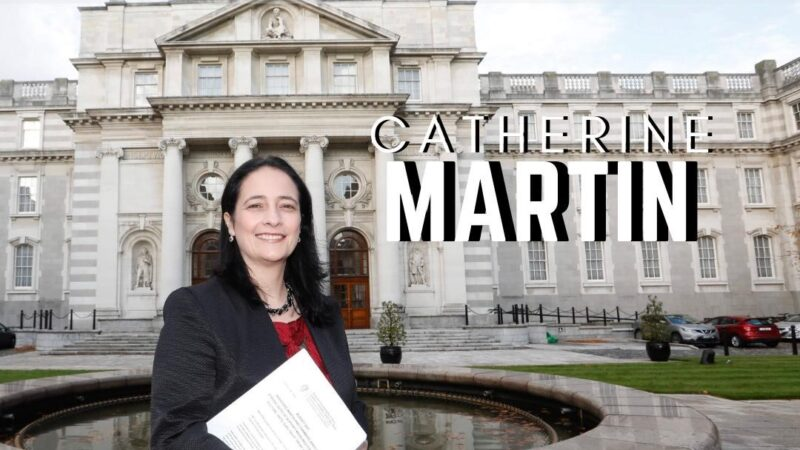 Minister Catherine Martin wants to see more women on sports boards